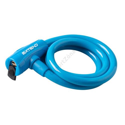 Kerékpár zár Extend COMPANION 12*1200mm, Kék